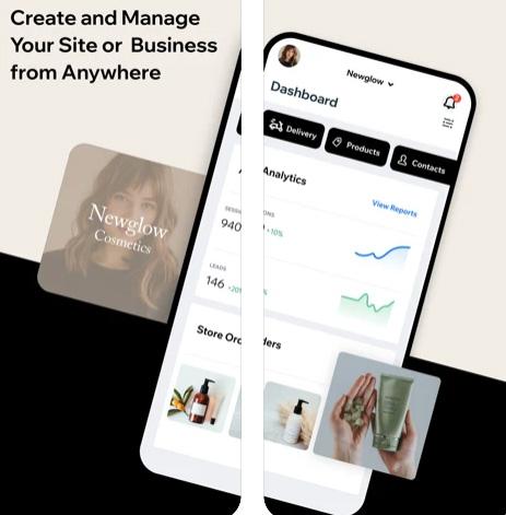 Wix Owner لإنشاء مدونات ومواقع وتطبيقات ويب