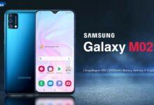 سامسونج تكشف عن هاتف جالكسي M02 بشاشة 6.5 بوصة وبطارية 5,000mAh وسعر أقل من $100