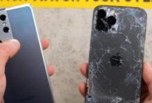 هاتفيّ جالكسي S21 ألترا وآيفون 12 برو ماكس يتعرضا لاختبارات السقوط – هل هي دقيقة؟