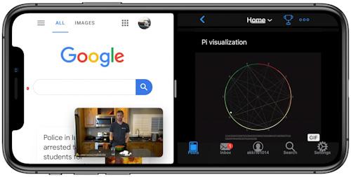 تحديث iOS 15 القادم - تقسيم الشاشة