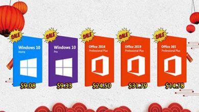 الآن يمكنك شراء مفاتيح تفعيل ويندوز 10 و أوفيس 2019 بأرخص سعر ممكن!