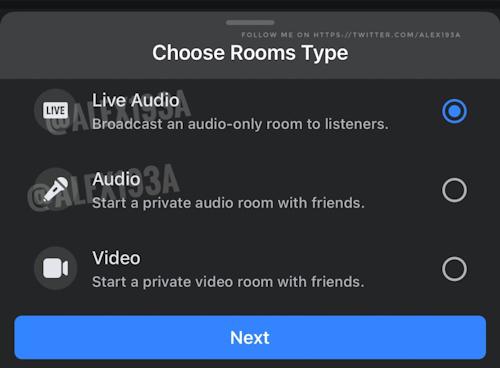 فيسبوك يطور ميزة Live Audio
