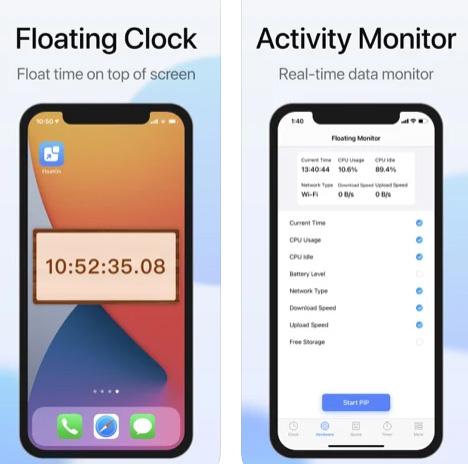 تطبيق FloatOn شاشة عائمة على الايفون والايباد