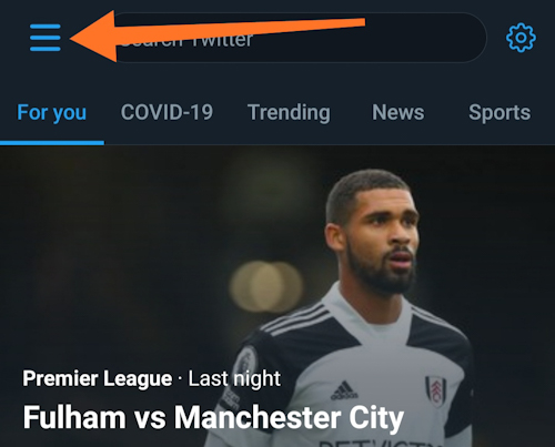 How to activate data saving mode in Twitter?