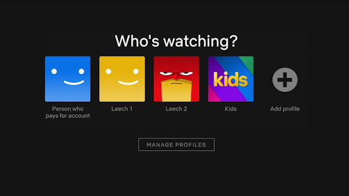 Netflix may not allow you to share passwords accounts again!