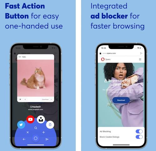 إطلاق نسخة جديدة من متصفح أوبرا على الايفون والايباد - تعرف عليها!