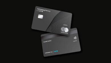 سامسونج ستطوّر بطاقات دفع ذكية تعمل بمستشعر البصمة