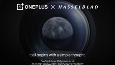 تأكيد موعد إطلاق ون بلس 9 والإعلان عن الشراكة مع Hasselblad – إليك التفاصيل