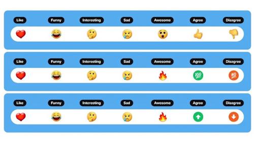 مثل فيسبوك - تويتر ينوي إضافة التفاعلات بالإيموجي على التغريدات!