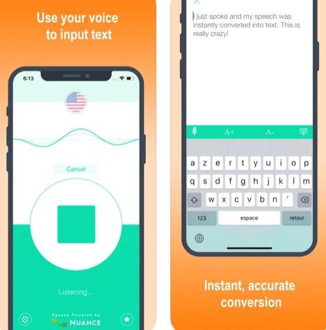 تطبيق التعرف على الصوت والترجمة Active Voice