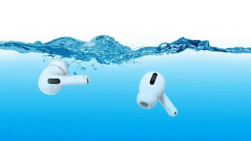 هل سماعة AirPods Pro مقاومة للماء؟