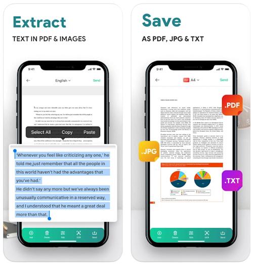 تطبيق ScannerLens+ مسح الأوراق والمستندات وتحويلها إلى PDF