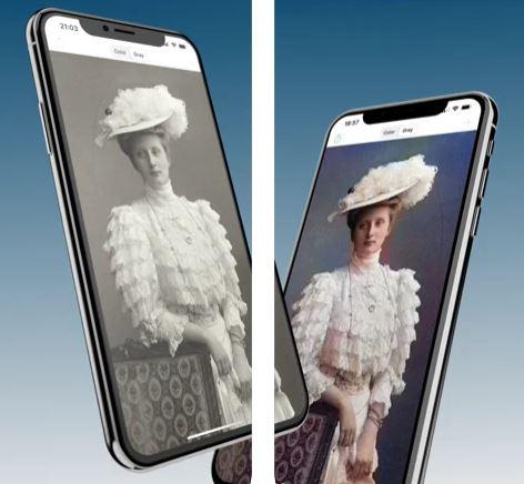 تطبيق Colorize تلوين الصور القديمة