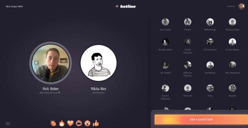 تعرف على تطبيق Hotline بديل تطبيق Clubouse من تطوير فيسبوك