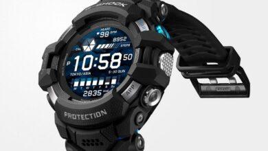 كاسيو تكشف عن ساعة G-Shock ذكية مع نظام Wear OS