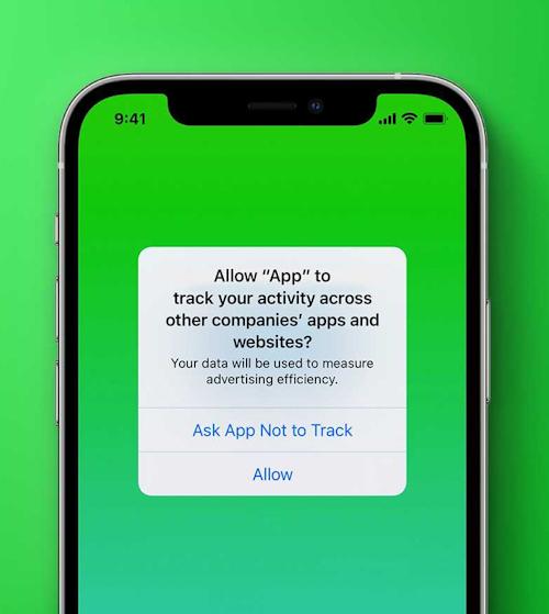 خاصية منع التتبع في تحديث iOS 14.5