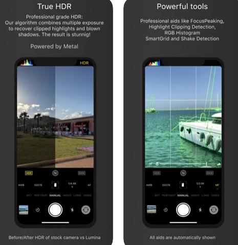 تطبيق Lumina manual AI camera - تطبيق كاميرا مميز