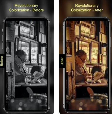 تطبيق Pholorize لتلوين الصور القديمة