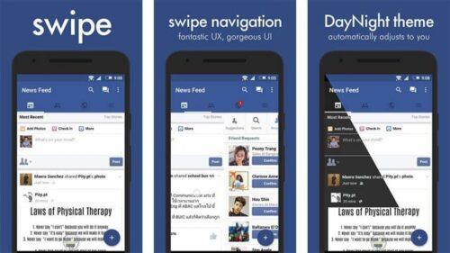 فيسبوك تبدأ في محاربة تطبيقات الطرف الثالث وتحذف Swipe و Simple Social من المتجر