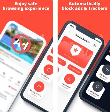 تطبيق Threats Blocker لحماية جهازك