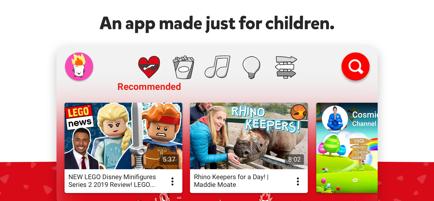تطبيق يوتيوب للصغار YouTube Kids