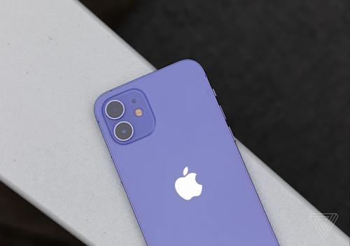 صور ايفون 12 / ايفون 12 ميني مع اللون الأرجواني