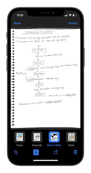 كيفية تصوير الأوراق والمستندات على الايفون ؟
