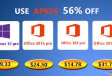 احصل على نسختك الأصلية من مفاتيح تفعيل ويندوز 10 و أوفيس 2019 بأرخص سعر ممكن!