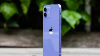 بالصور - هذا هو ايفون 12 باللون الأرجواني الجديد!
