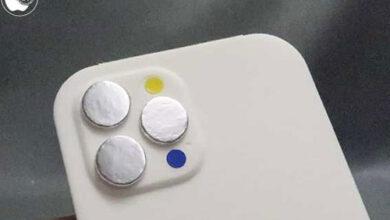 تسريبات - أول نموذج لهاتف ايفون 13 برو يظهر مع نوتش أصغر