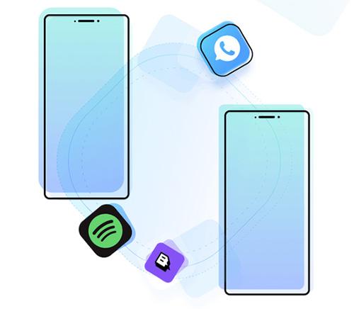 كيفية نقل رسائل واتساب بين الايفون والأندرويد ونسخ التطبيقات بنقرة واحدة؟