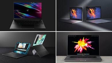 أفضل الحواسيب المحمولة التي ننصح بشرائها في 2021