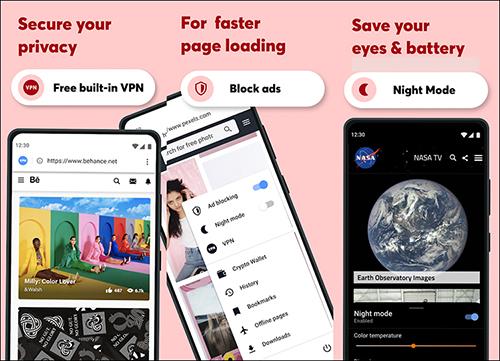 أفضل المتصفحات لهواتف الاندرويد في عام 2021