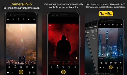 أفضل 8 تطبيقات كاميرا للتصوير على الأندرويد