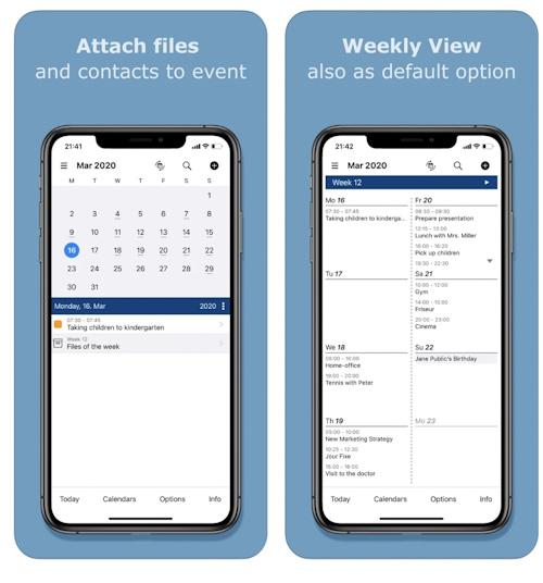 تطبيق File Calendar - تقويم مميز