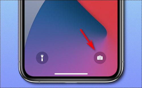 كيفية فتح كاميرا الايفون مباشرة من شاشة القفل؟
