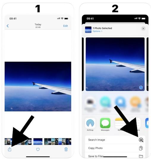 تطبيق البحث باستخدام الصور Reverse Image Search