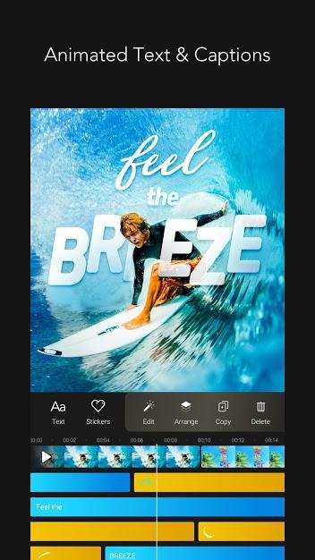 تطبيق MOLDIV VideoLab لإنشاء مقاطع فيديو