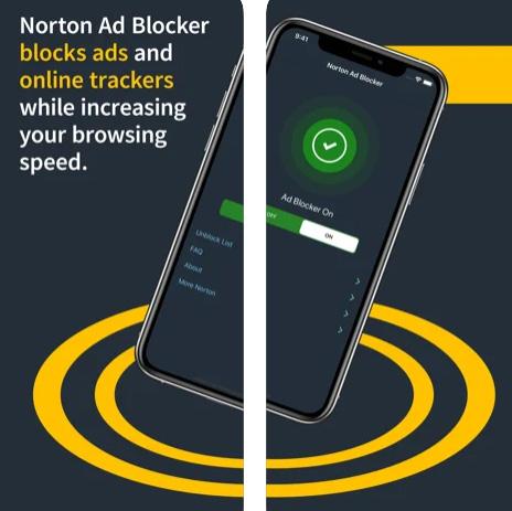 تطبيق Norton Ad Blocker لحجب الإعلانات