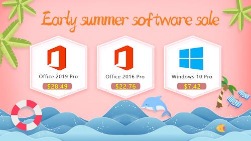 يمكنك الآن شراء مفاتيح تفعيل ويندوز 10 وأوفيس 2019 بأسعار رخيصة للغاية لفترة محدودة!