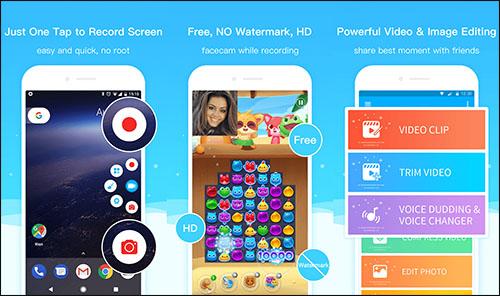 أفضل تطبيقات تصوير الشاشة فيديو للاندرويد