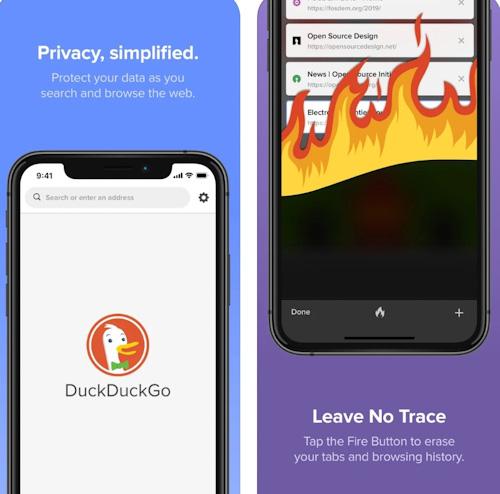 متصفح DuckDuckGo الآمن