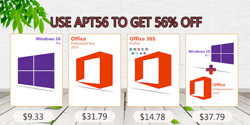 احصل على مفاتيح تفعيل ويندوز 10 برو وحزمة أوفيس وبرامج مكافحة الفيروسات بأرخص سعر ممكن!