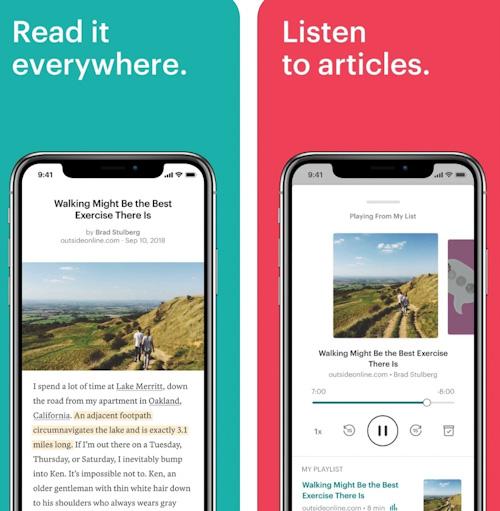 تطبيق Pocket - حفظ المحتوى من الإنترنت