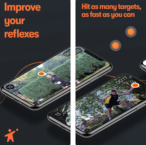 تطبيق Reflexes - تمارين رياضية منزلية مسلية