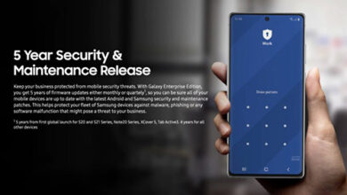 سامسونج تخطط لدعم هواتفها الرائدة بالتحديثات الأمنية لمدة 5 أعوام