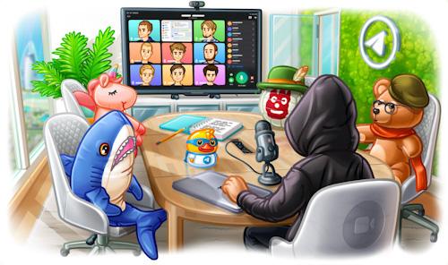 تحديث تيليجرام - مكالمات الفيديو الجماعية باتت متاحة الآن