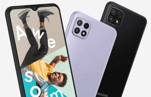 رسميًا – الكشف عن هاتف جالكسي A22 بإصدارين مختلفين وبمزيج مميز من المواصفات