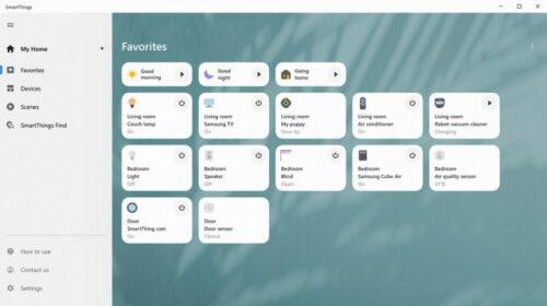 سامسونج تحدث واجهة تطبيق SmartThings – ما هو هذا التطبيق وكيف تستفيد منه؟