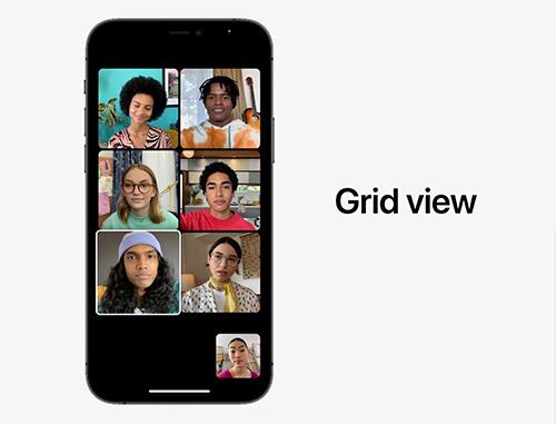 الإعلان عن iOS 15 رسمياً تطبيق فيس تايم